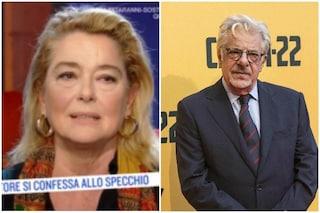 """Monica Guerritore: """"Giancarlo Giannini mi lasciò in modo sgradevole, fu maleducato"""""""