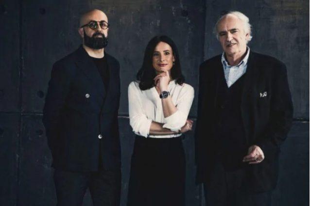 in foto i tre esperti: Fabrizio Quattrini, Nada Loffredi e Mario Abis
