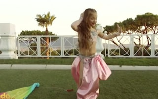Chi è Serena Cirillo, la bambina di 7 anni che fa danza del ventre