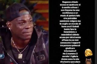 Le scuse di Mario Balotelli a Dayane Mello dopo la battuta volgare al GF Vip
