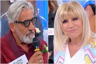 """Anticipazioni Uomini e Donne, """"bacio porno"""" tra Gemma Galgani e Biagio"""