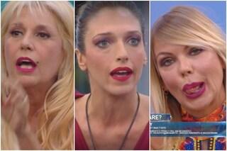 """GFVip, Matilde contro Maria Teresa e Guenda: """"Non fate le vittime"""", Guenda: """"Branco aggressivo"""""""
