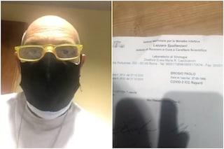 """Paolo Brosio lascia l'ospedale dopo 25 giorni: """"Secondo tampone negativo, posso entrare al GF Vip"""""""