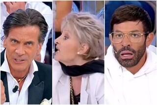 "Uomini e Donne, Daniel a Cristina: ""Fai schifo"". Caos in studio, Gianni Sperti: ""Uomo di m...a"""