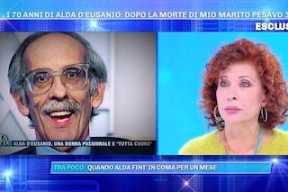 """Alda D'Eusanio sul marito morto da 21 anni: """"Gianni sempre con me, gli faccio ancora i regali"""""""