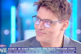 """Gabriel Garko dopo il coming out annuncia: """"Non mi vedrete più in televisione"""""""