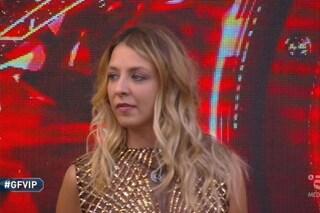 Myriam Catania eliminata durante la nona puntata del Grande Fratello Vip 2020