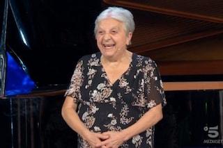 """Nerina, pianista 81enne, in finale a Tu sì que vales: """"Vivo in casa di riposo, ho trovato la vita"""""""