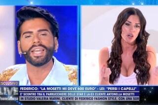 """Antonella Mosetti accusata di non avere pagato Federico Fashion Style: """"Ho pagato in nero, schifoso"""""""