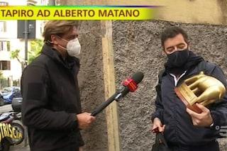 """Tapiro ad Alberto Matano dopo le frasi della Cuccarini: """"Le pugnalate? Sono un uomo trasparente"""""""