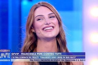 "Franceska Pepe: ""Insinuazioni disgustose di Myriam Catania. Ho avuto ex benestanti, mi godo la vita"""
