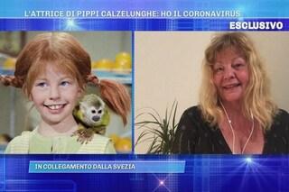 Inger Nilsson di Pippi Calzelunghe ha il coronavirus, l'attrice costretta a saltare Domenica Live