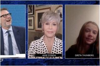 "Jane Fonda: ""Donald Trump tiranno, spero venga arrestato. Greta Thunberg mi ha ispirata"""