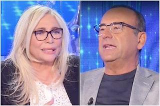 """Domenica In, Carlo Conti intervista Mara Venier: """"Non mi aspettavo questa sorpresa"""""""