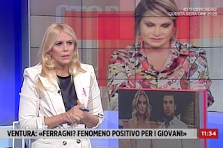 """Eleonora Daniele: """"Chiara Ferragni non ha parlato di Covid"""", Fedez: """"E questo è servizio pubblico?"""""""