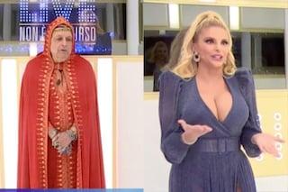 """Scontro tra Divino Otelma e Francesca Cipriani: """"Hai la testa di segatura, ti porto in tribunale"""""""