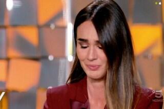 Silvia Toffanin si commuove a Verissimo dopo la morte di mamma Gemma