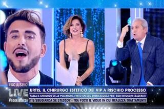 """Giacomo Urtis litiga con Alba Parietti e Pietro Lorenzetti che lo accusa: """"Imbroglione"""""""