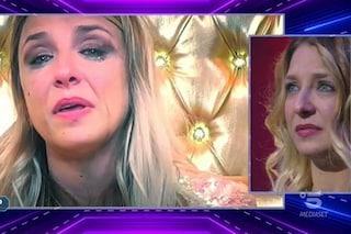 """Myriam Catania vuole lasciare il GF Vip poi ritratta, Elia: """"Spalle coperte dalla famiglia potente"""""""