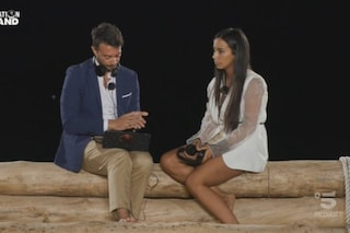 A Temptation Island il falò silenzioso di Antonio Giungo e Nadia, è la Marcuzzi a fare le domande
