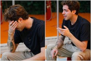 """Tommaso Zorzi e il pianto disperato per la nonna: """"È morta da poco"""""""