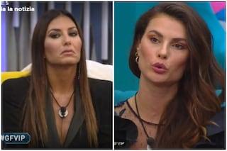 """GF Vip, Elisabetta Gregoraci contro Dayane Mello: """"Parli solo per gelosia"""""""