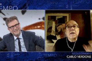 """Carlo Verdone: """"La polizia mi fermò sul set di Un sacco bello, ero in mutande"""""""