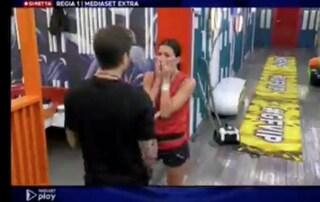 GF Vip, Elisabetta Gregoraci in lacrime per colpa di Dayane Mello