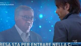 """GF Vip, Massimiliano Morra incontra il padre Pasquale. Lui: """"Tira fuori gli attributi"""""""
