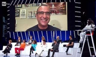 Carlo Conti torna a Tale e quale show: sarà in collegamento da casa