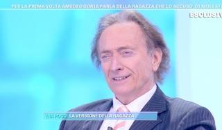 """Amedeo Goria sulle accuse di molestie da parte di Michela Morellato: """"Tutto infondato, ecco perché"""""""