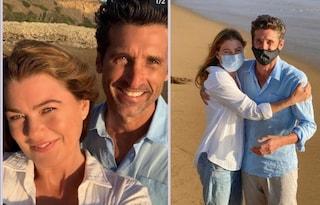 """Patrick Dempsey e Ellen Pompeo, anche Derek e Meredith in mascherina: """"Stiamo uniti"""""""