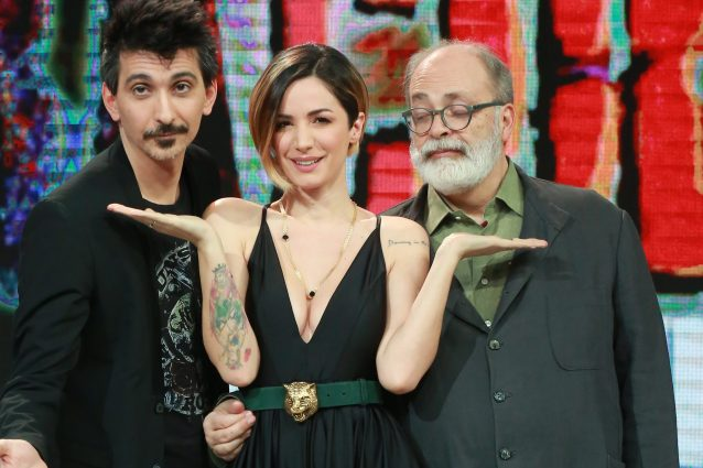 Fabrizio Biggio, Andrea Delogu e Marco Giusti (Stefano Colarieti / LaPresse)