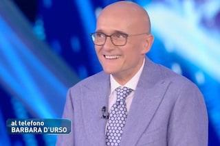 """Barbara D'Urso telefona in diretta ad Alfonso Signorini: """"Il Grande Fratello è mio"""""""