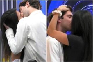 GFVip, il bacio tra Tommaso Zorzi e Giulia Salemi