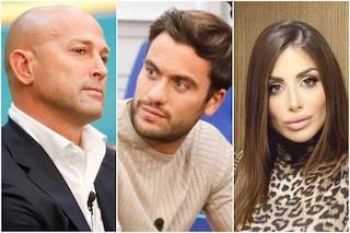 """GF Vip, Stefano Bettarini a Pierpaolo Pretelli: """"Hai scritto alla mia fidanzata Nicoletta Larini"""""""