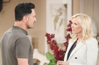 Beautiful anticipazioni soap dall'8 novembre: Brooke e Bill alleati per incastrare Thomas