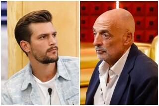 Paolo Brosio accusa Zelletta di avere fatto spoiler al GF Vip, Andrea nega ma un video lo smentisce