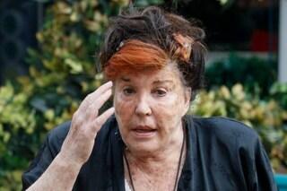 """GFVip, Patrizia De Blanck ha aggredito l'ex marito: """"Era tutto coperto di sangue"""""""