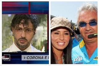"""Fabrizio Corona: """"Elisabetta Gregoraci aveva un contratto con Matteo Cambi, poi incontrò Briatore"""""""