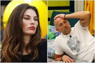 """GFVip, Dayane Mello tenta di sedurre Bettarini: """"Con gli uomini basta fare così"""""""