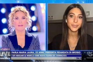 """La fidanzata 22enne di Paolo Brosio positiva al Covid: """"Abbiamo condiviso momenti carnali"""""""