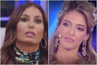 """GFVip, Guenda: """"Elisabetta non ha umanità"""", la Gregoraci: """"Sei falsa"""" e scoppia in lacrime"""