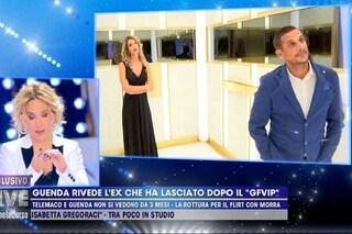 Guenda Goria rivede Telemaco Dell'Aquila, la domanda scomoda di Barbara D'Urso