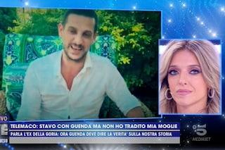 """Guenda Goria rivede Telemaco Dell'Aquila in tv ma lui è furioso: """"Il flirt con Morra c'è stato"""""""