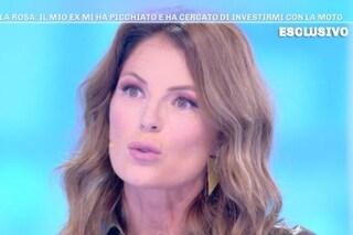"""Marina La Rosa e il racconto doloroso delle violenze subite: """"Le botte e le bugie per nasconderle"""""""
