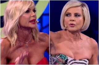 """""""Iena"""", così Antonella Elia al GF Vip dà della ipocrita a Matilde Brandi"""