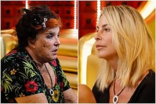 """""""Stron*a"""": il video della lite tra Patrizia De Blanck e Stefania Orlando tra insulti e lacrime"""