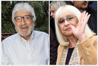 L'addio di Raffaella Carrà a Gigi Proietti