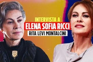 """Elena Sofia Ricci è Rita Levi Montalcini: """"Ai tempi del Covid condannerebbe l'egoismo sfrenato"""""""